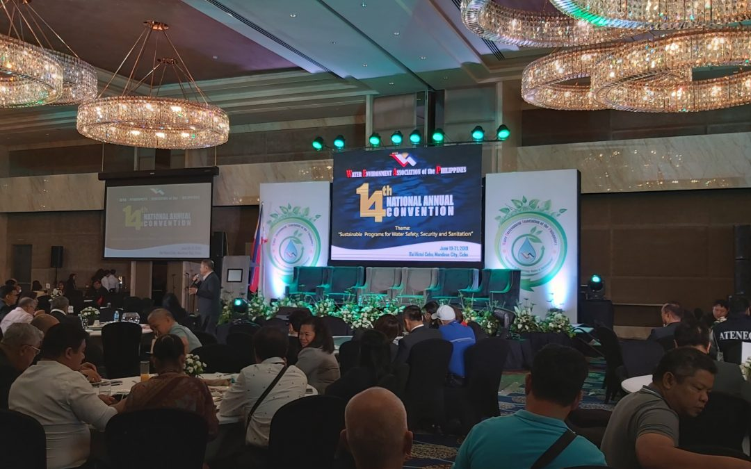 2019 National Convention of Water Environment Association of the Philippines (WEAP)