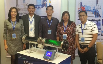 """Exhibitor at the 23rd PWWA International Conference and  Exhibition or """"Philwater 2015"""""""