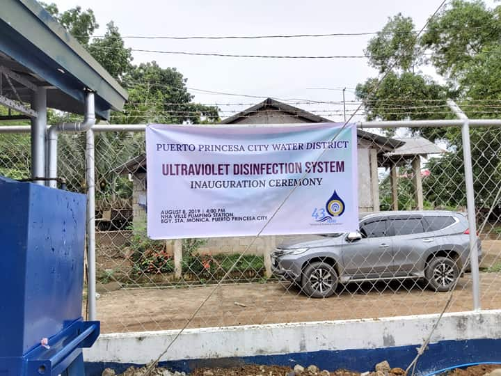 Puerto Princesa City Water District Ultraviolet Disinfection System Inauguration Ceremony
